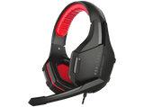 Auriculares gaming - Red Level Gaming Estéreo, Compatible con PS4, PS5, Rojo-Negro