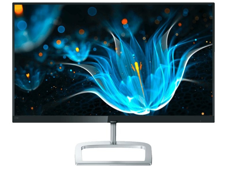 Monitor - Philips 276E9QJAB, 27, IPS, AMD Freesync, Ultra Wide-Color, Negro y plateado