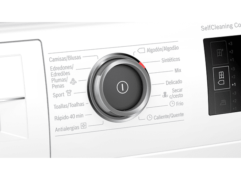 Secadora - Bosch WTU87RH1ES, 8 kg, Independiente, WiFi Home Connect, A+++, Blanco