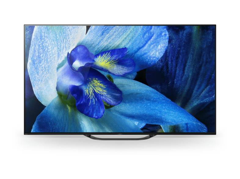 TV OLED 55 - Sony KD-55AG8, Ultra HD 4K, HDR, Android 8.0 Oreo, X1 Ultimate, Acoustic Surface Audio