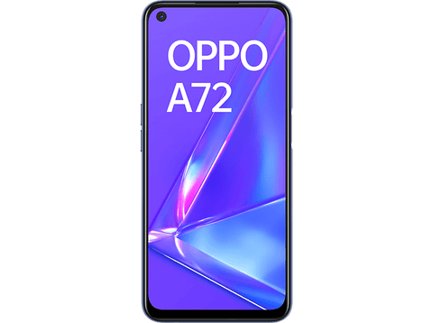 Móvil - OPPO A72, Twilight Black, 128 GB, 4 GB RAM, 6.5
