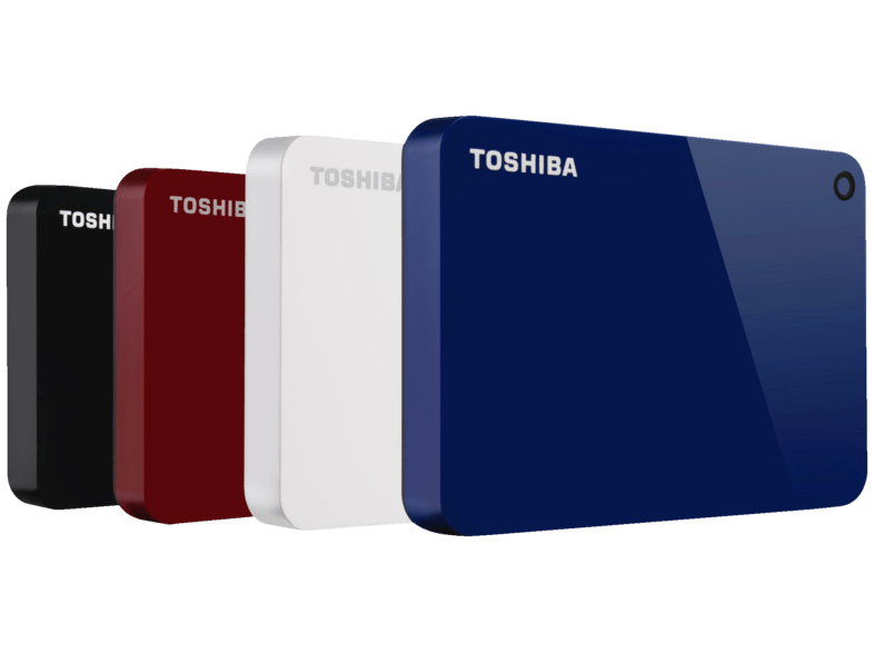 Disco duro portátil 2 TB - Toshiba Canvio Advanced HDTC920EK3AA, Blanco