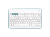 Teclado inalámbrico - Wireless SilverHT Bluetooth, Universal, Azul