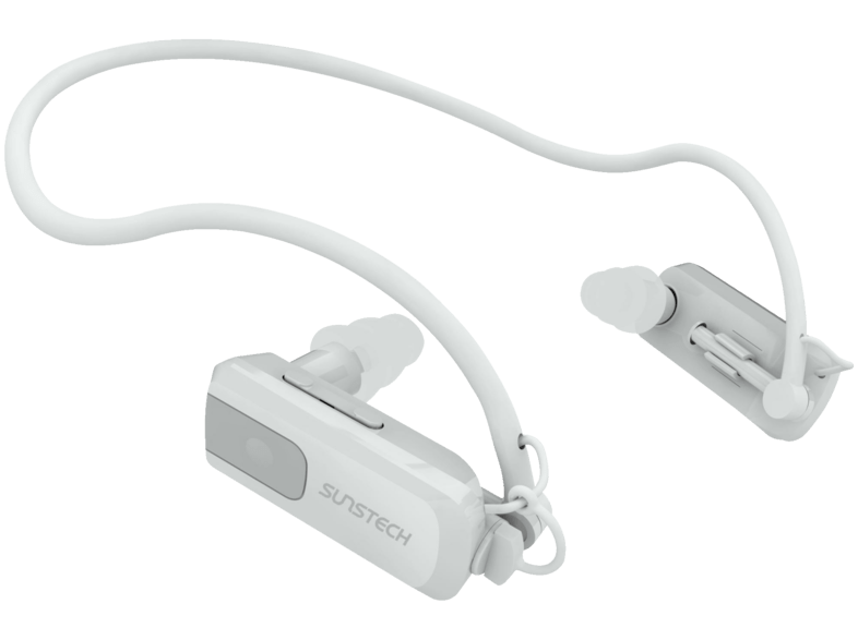 MP3 acuático - Sunstech Triton 4GB, Blanco