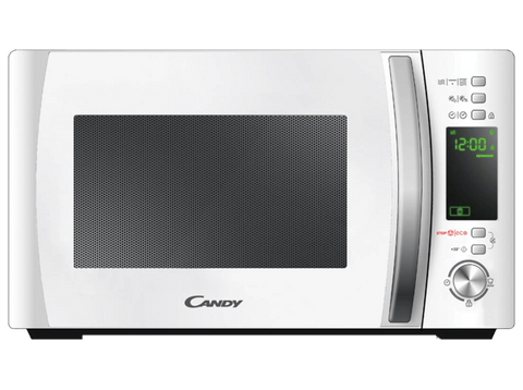 Microondas - Candy CMXG20DW, Grill, 20L, 700W, Cook In App, ECO, 40 programas, Bloqueo infantil, Blanco