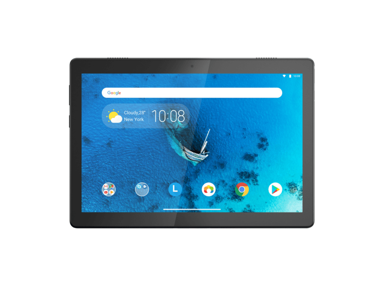 Tablet - Lenovo Tab M10, 32 GB, Blanco, WiFi, 10.1 HD, 2 GB RAM, Snapdragon 429, Android