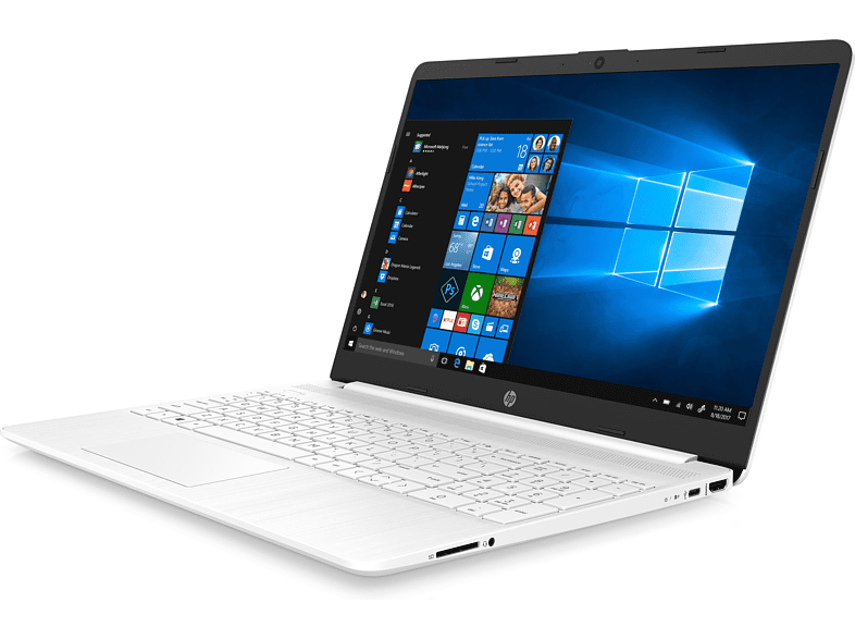 Portátil - HP 15s-fq1082ns, 15.6 Full-HD, Intel® Core™ i7-1065G7, 12 GB, 1 TB SSD, W10 Home, Blanco