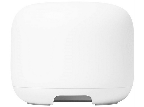 Router - Google Mesh Nest WiFi Router, 1GB RAM, 4GB flash, Bluetooth, WPA3, Blanco