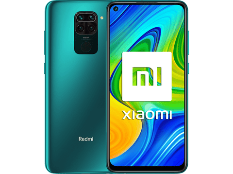Móvil - Xiaomi Redmi Note 9, Verde, 128 GB, 4 GB, 6.53