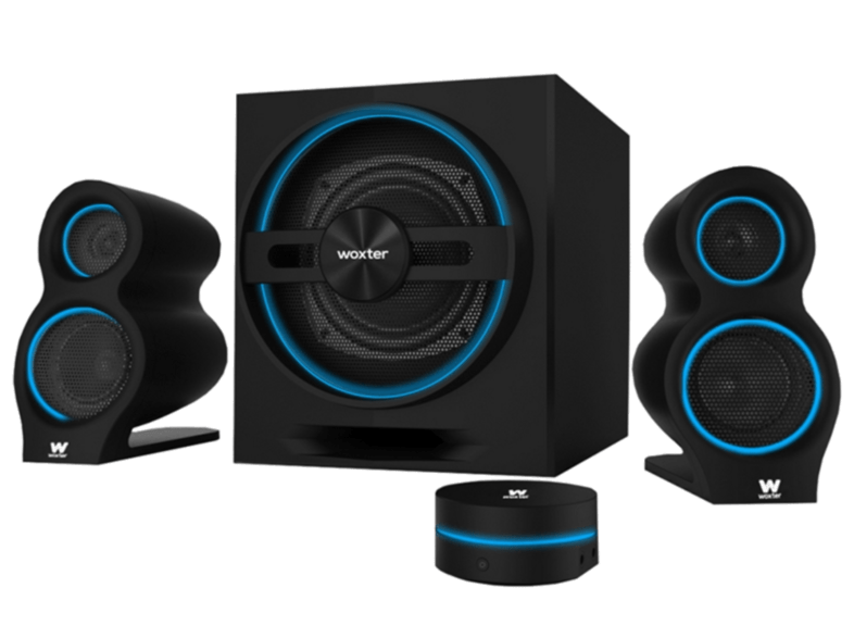 Sistema de altavoces - Woxter Big Bass 500, 150 W, 2.1, Bluetooth, Negro