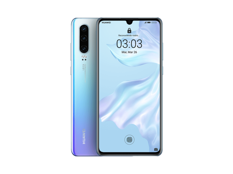 Móvil - Huawei P30, Blanco, 128 GB, 6 GB RAM, 6.1 Full HD+, Kirin 980, 3650 mAh, Android