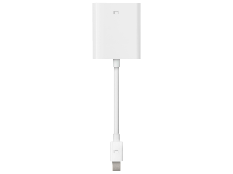 Adaptador de Mini DisplayPort a VGA - Apple MB572Z/A, para MAC, blanco