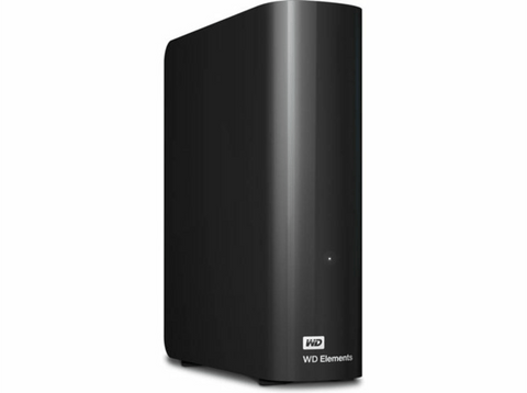 Disco duro 10 TB - Western Digital WD Elements Desktop, Micro-USB B, 3.0 (3.1 Gen 1), Negro