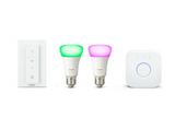 Kit de iluminación - Philips Hue White and Color E27, 2 bombillas, Hue, LED, Domótica, Bluetooth