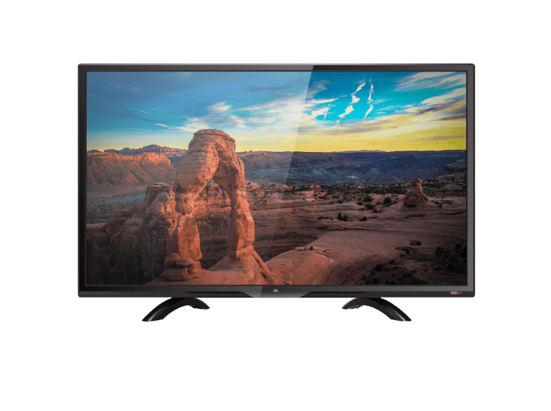 TV LED 24 - OK ODL 24661HN-DB, HD Ready (1366x768p), Sonido Dolby 4.6 W, HDMI, USB, Negro