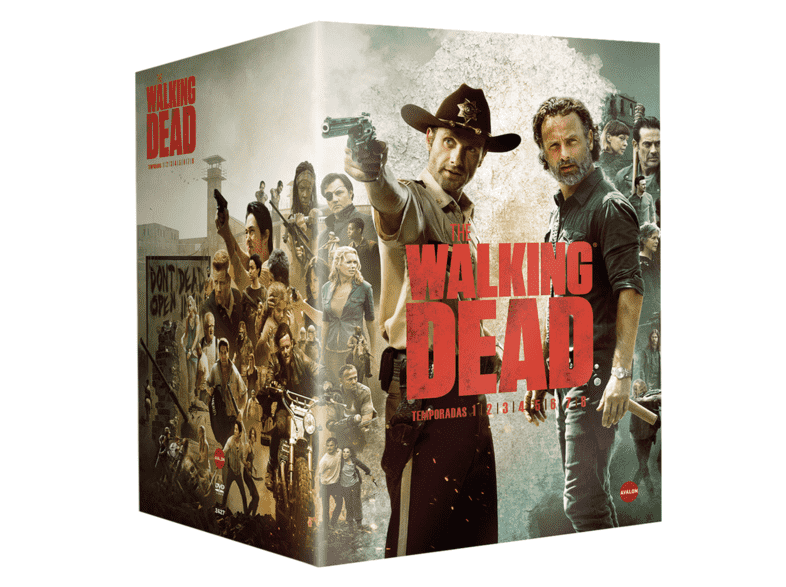 Pack The Walking Dead - Temporadas 1-8 - DVD