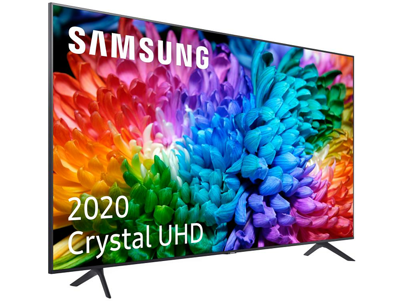 TV LED 50 -  Samsung Crystal UHD 50TU7125, Smart TV, 4K Real y HDR10+, Compatible con Asistentes de Voz