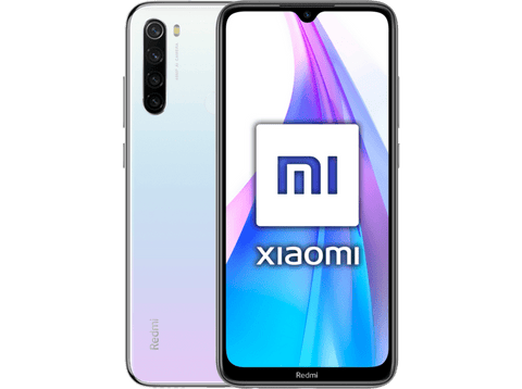 Móvil - Xiaomi Redmi Note 8T, Blanco, 64 GB, 4 GB RAM, 6.3