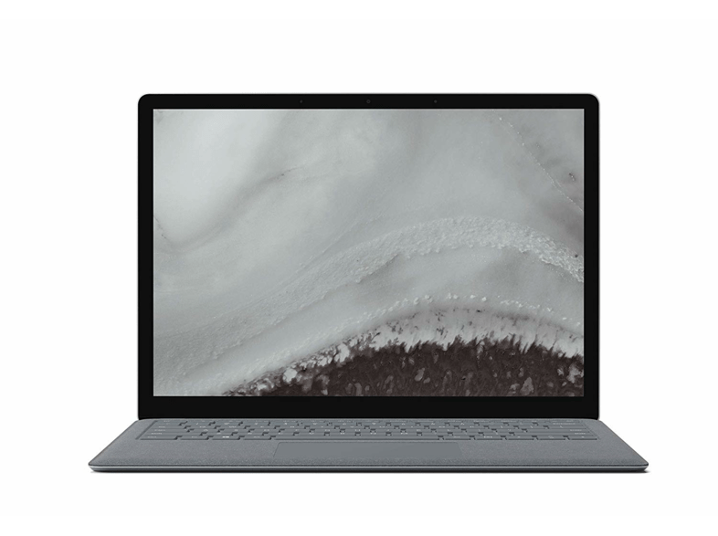 Portátil - Microsoft Surface Laptop 2, 13.5, Intel® Core™ i5-8250U, 8GB RAM, 128GB SSD, W10, Plata