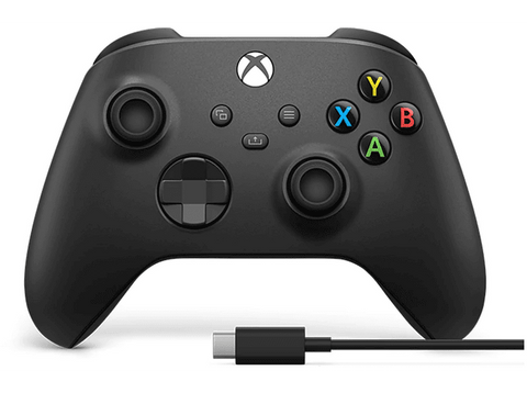 Mando - Microsoft Xbox One Controller Wireless 1V8-00002, Inalámbrico, Para Xbox One Series X/S + Cable USB-C