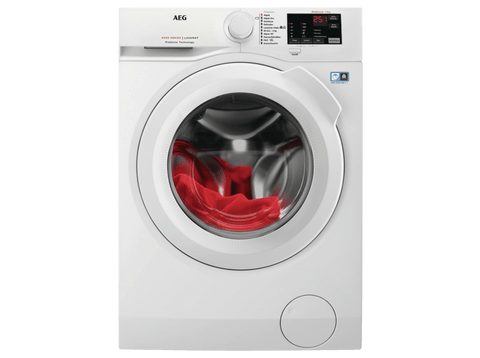 Lavadora carga frontal - AEG L6FBI821U, Independiente, Carga frontal, 8kg, 1200RPM, A+++