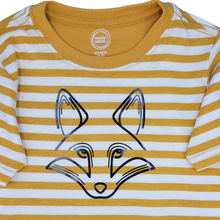 CHILD'S FOX STRIPE T-SHIRT