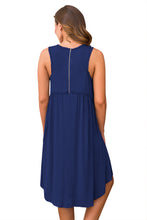 Load image into Gallery viewer, Blue Swing Dress
