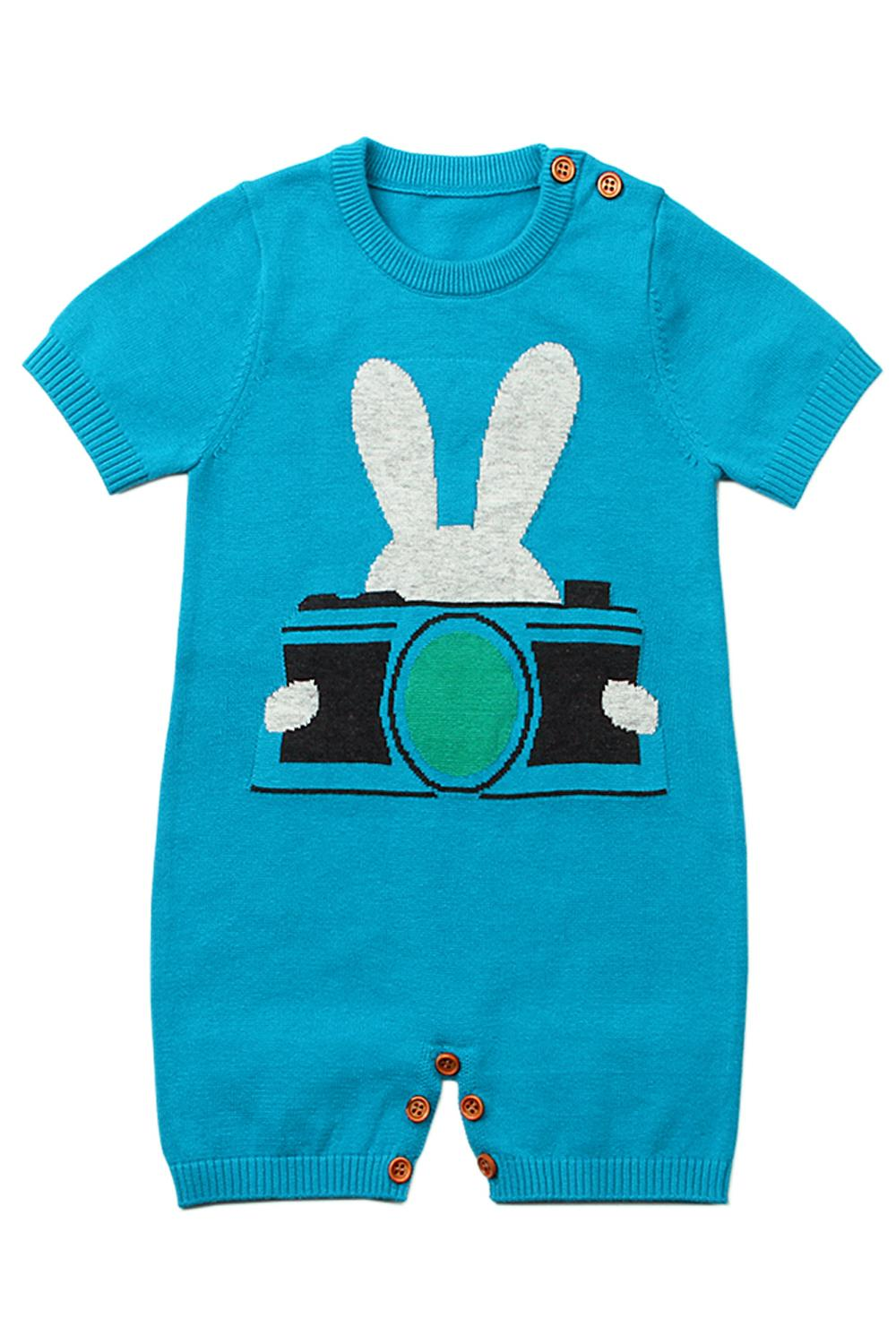 Blue Bunny Infant Onesie