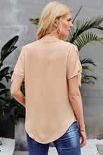 Load image into Gallery viewer, Apricot Drape Blouse