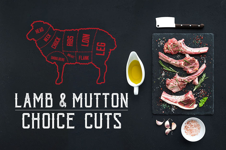 Lamb & Mutton - Choice Cuts