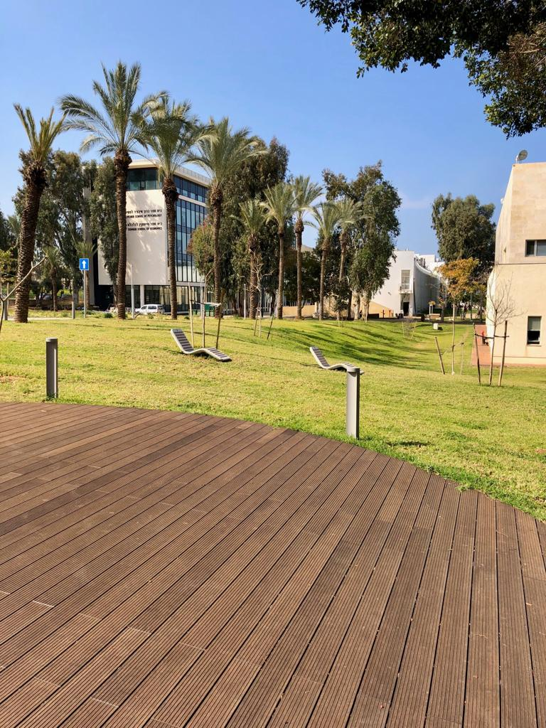 Natural Bamboo grooved Herzliya University