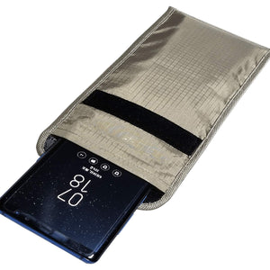 Cell Phone Anti Radiation, Anti Tracking, Anti Spying, Credit Card Security Pouch
