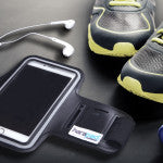 Cell Phone Sport Armband with Emf Protection
