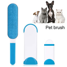 Load image into Gallery viewer, Dog Comb Tool Pet Hair Remover Brush Dog Cat Fur Brush Base Double-Side Home Furniture Sofa Clothes Cleaning Lint Brush