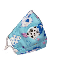 Blue Lovely Kids Mask