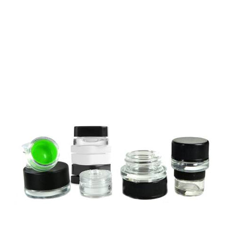 Concentrate Containers (Acrylic Glass and Silicone)