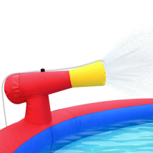 Load image into Gallery viewer, Inflatable Water Park with Slide and Water Gun