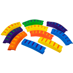 Balance Beam Obstacle Course 10 Pc. Set