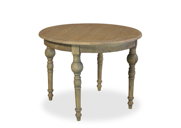 Parisienne Dining Table (1000mm) - Antique