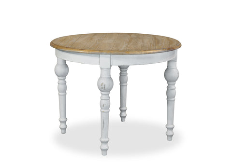 Parisienne Dining Table (1000mm) - White