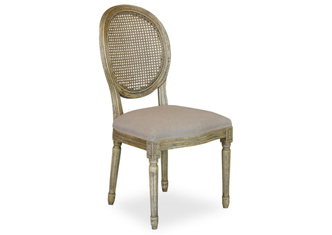 Motif Chair (Cane Back) - Antique