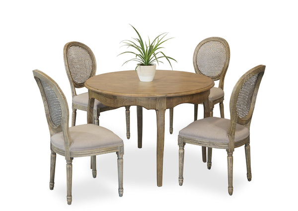 Parisienne 1100 & Motif Dining Suite - Antique