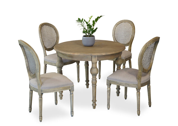 Parisienne 1000 & Motif Dining Suite - Antique