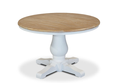 Parisienne Dining Table (1200mm) - White