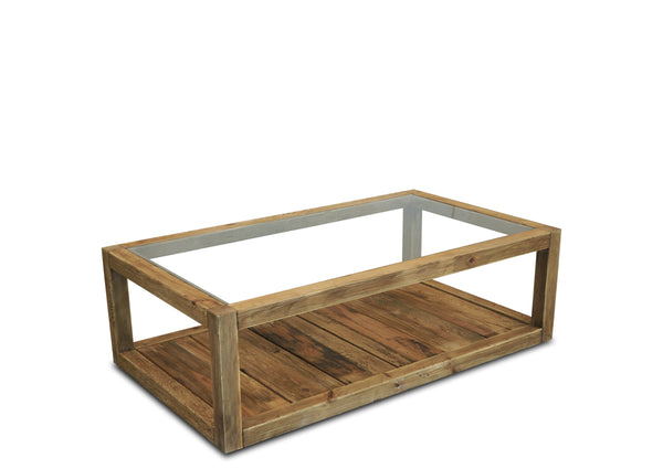 Plantation Coffee Table - Glass