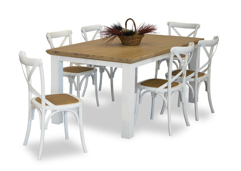 Walton & Cross Back Dining Suite (7 Piece)