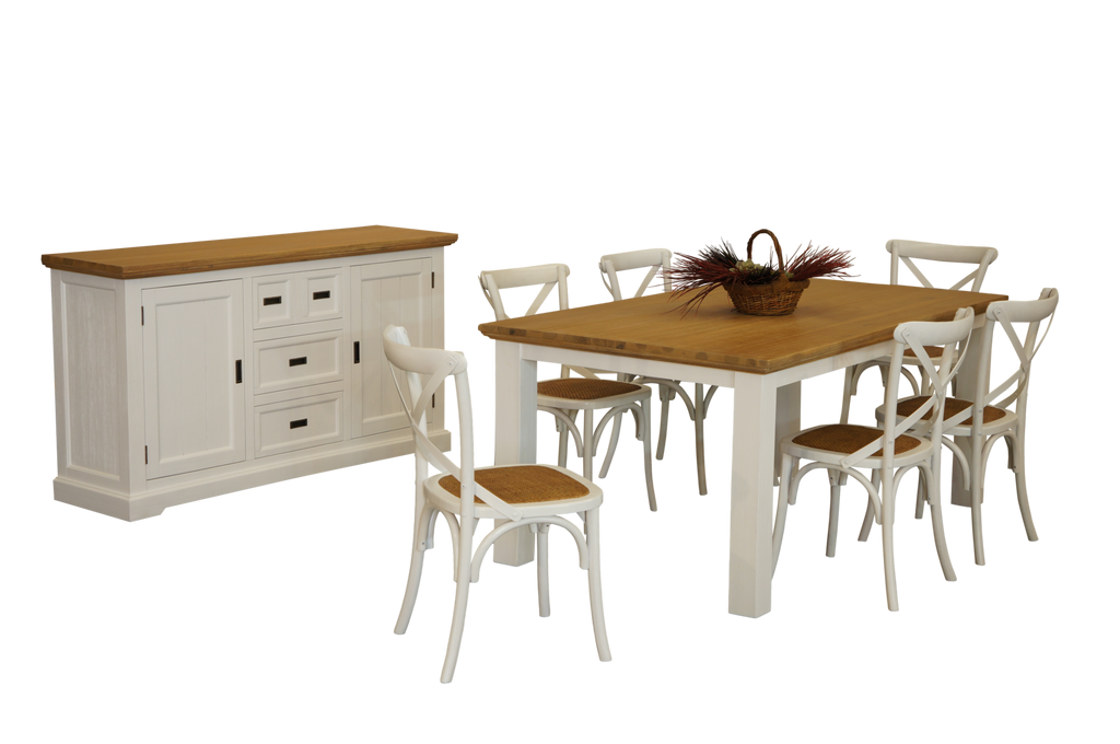 Walton Cross Back Dining Suite