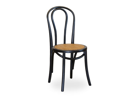 Bentwood Chair - Shabby Black