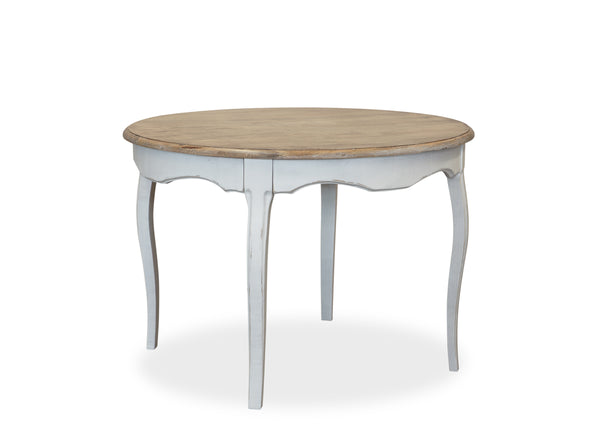 Parisienne Dining Table (1100mm) - White