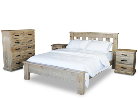 Territory Bedroom Set (4 Piece)